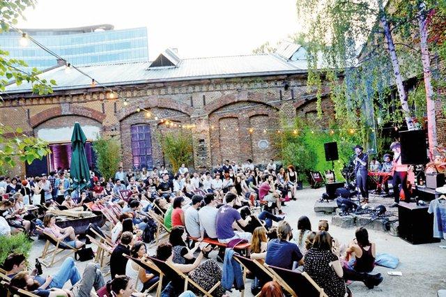 Open-Air-Konzerte in den Wagenhallen