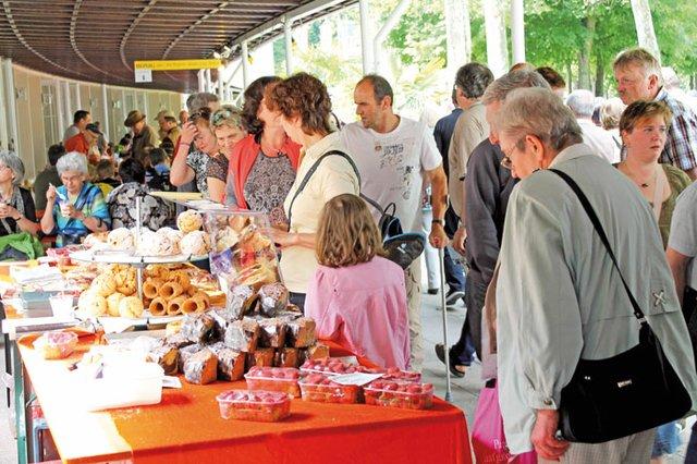 Bauernmarkt im Kurpark Bad Mergentheim