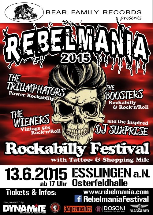 REBELMANIA Rockabilly Festival 2015
