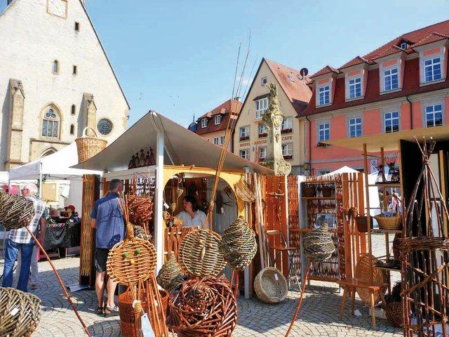 Markt für gehobenes Kunsthandwerk