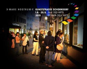 Kunststraße - Rue des Arts - Strada Dell'Arte