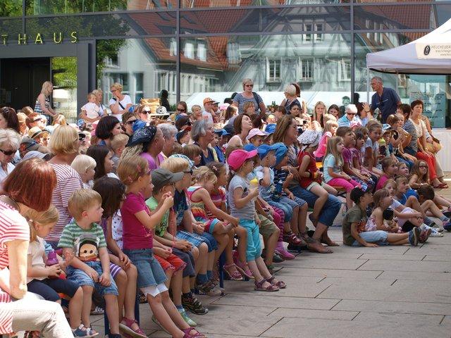 Kultur auf dem Marktplatz Leingarten