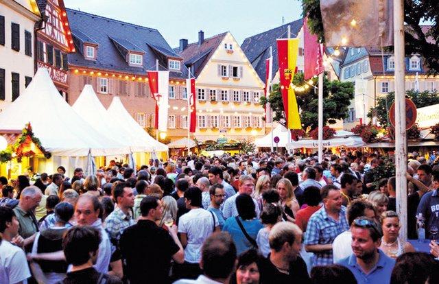20. Hohenloher Weindorf in Öhringen