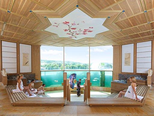 Badewelt Sinsheim, Koi Sauna